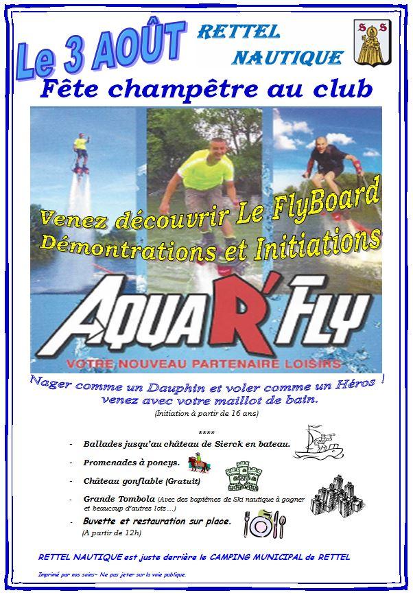 Fete Club Rettel 3 Août 2014